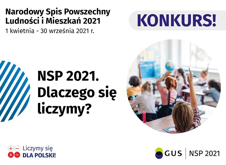 Konkurs dla uczniów związany z odbywającym się właśnie Narodowym Spisem Powszechnym Ludności i Mieszkań, organizowanym przez Urząd Statystyczny w Gdańsku.